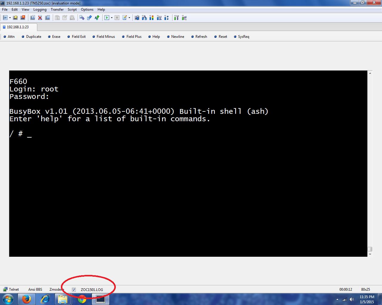 Password Admin Modem FO ZTE F660 – sigerung